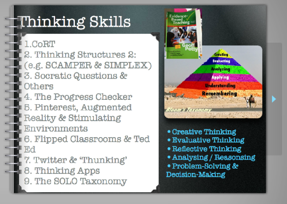 post 16 thinking skills